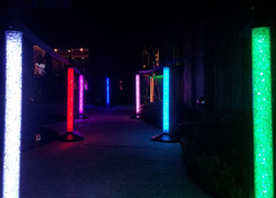 Glowing Stanchions