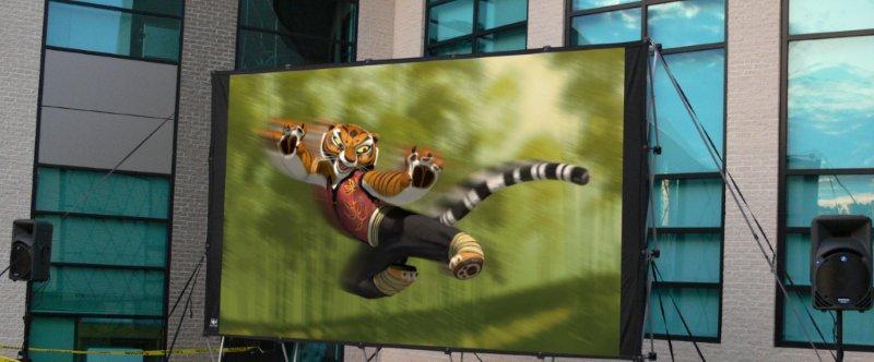 Outdoor Movies Big Screen