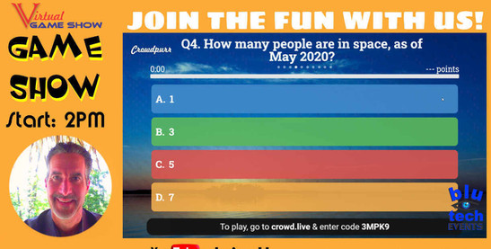Basic Hosted Game Show Screen