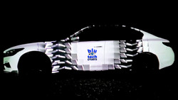 Video Mapping Car