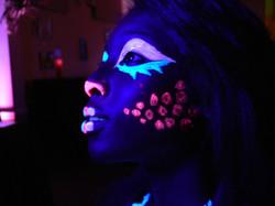 Black Light Makeup Artist