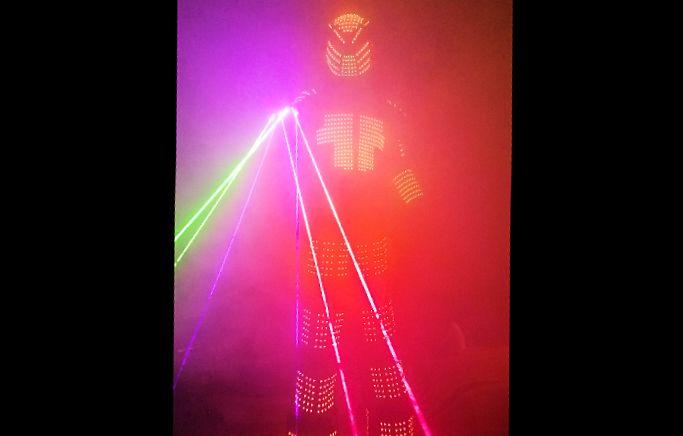 Robot Stilt Walker