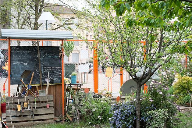 Le Jardin De L Ilot D Amaranthes A Lyon Cultiver Les Urbains En