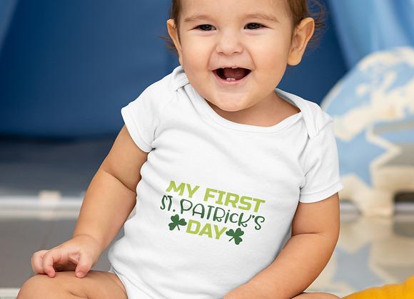 1st St. Patrick's Baby Onesie