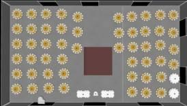 Sample floor plan-@101eventsatl