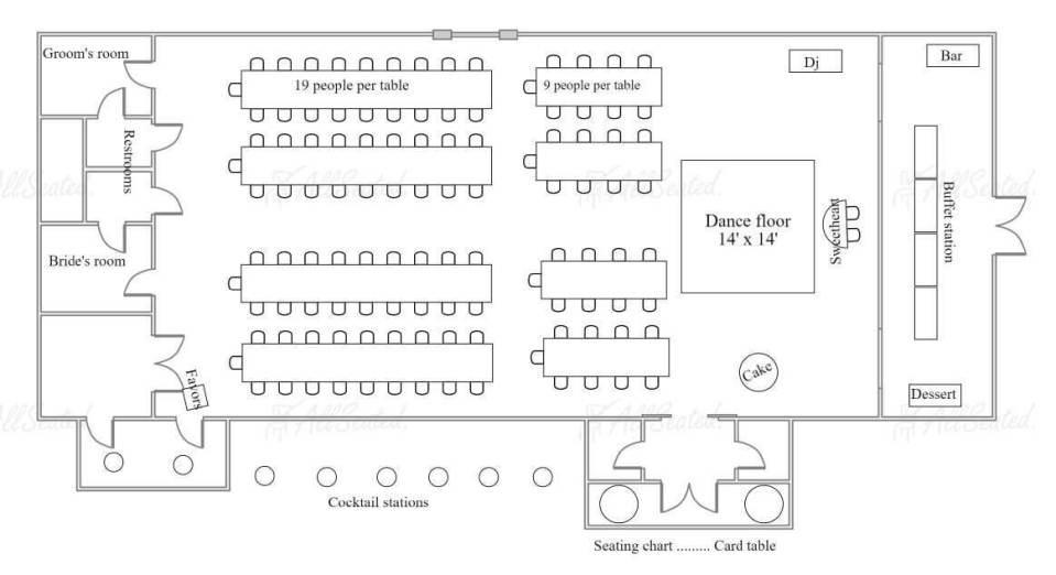Wedding reception floorplan-@101eventsatl