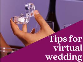 Tips for virtual wedding planning - using google sheets.