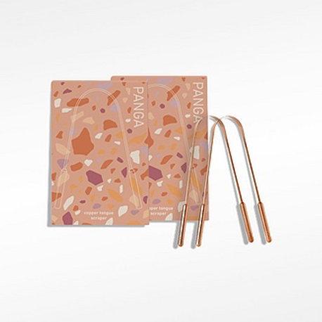 Copper Tongue Scraper 2-Pack