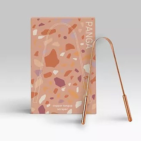 Copper Tongue Scraper 6 piece/case