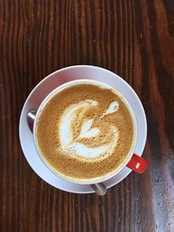Monigrams Cafe- Cappucino