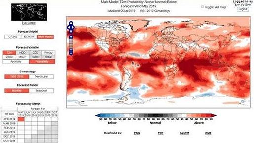 world climate service screenshot March 2