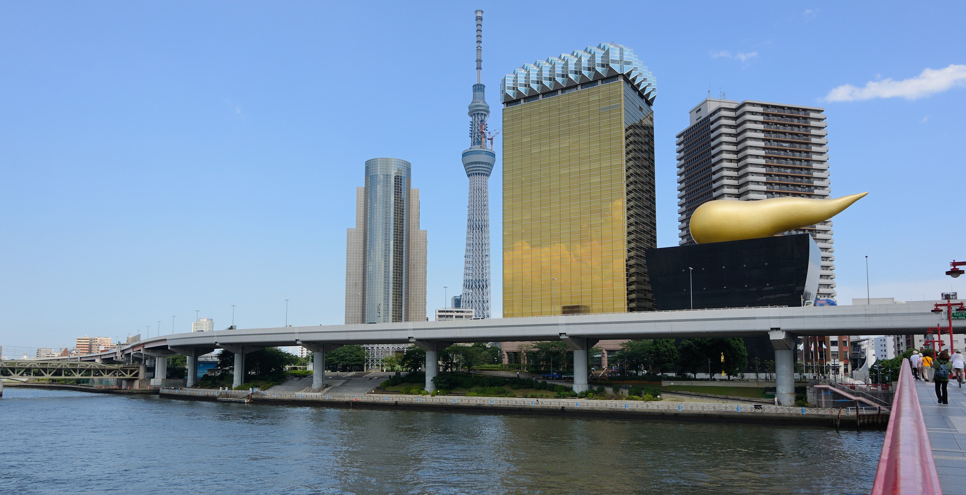 Tokyo Sky tree viewed from Azumabashi Ri
