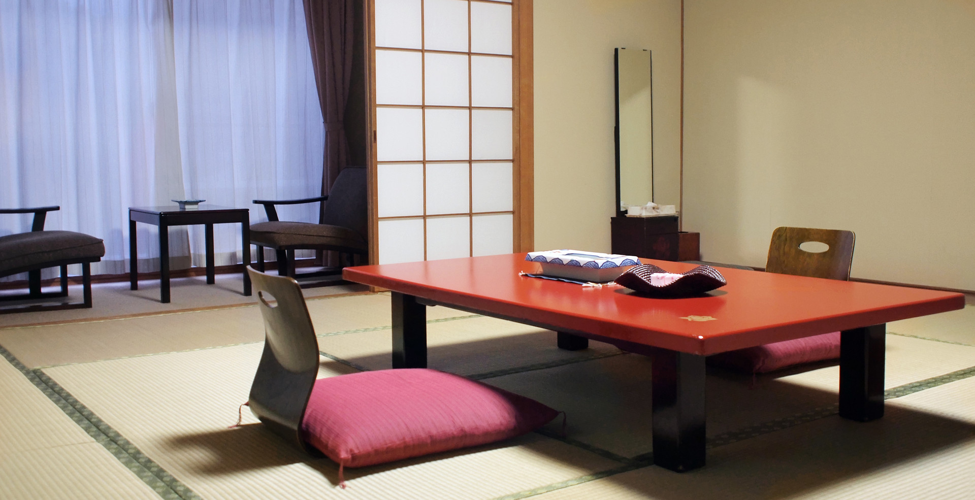 Traditional Japanese style living room i