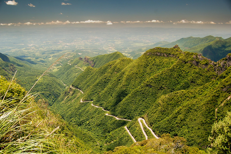 Rio do Rastro mountain road, Santa Catar