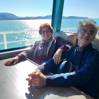 Casal Celia e Renato - viagem Patagonia 2019