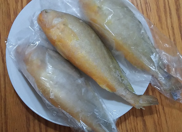 3 (about 1.8lb) Wild Yellow Croaker 野生黄花鱼 3条(约1.8磅)
