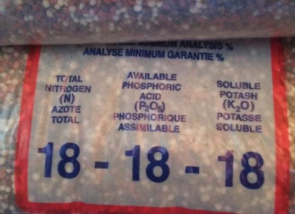 2Kg Fertilizer (18-18-18) 复合肥料2公斤