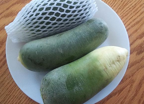 About 3.5lb Green Radish 青萝卜 约3.5磅