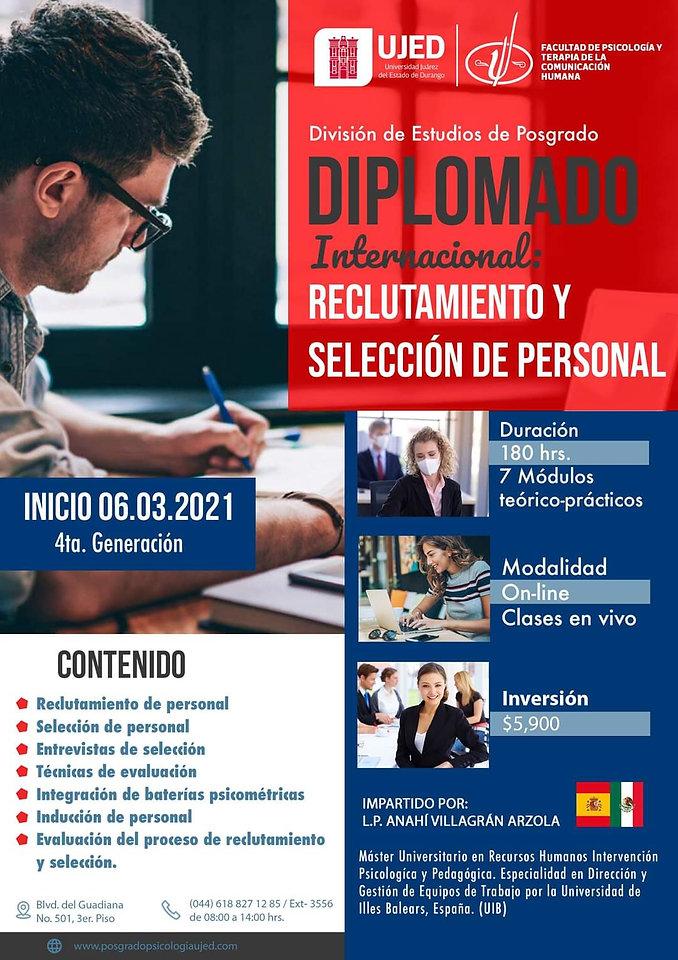 Diplomado Internacional Reclutamiento y
