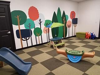 Tumbledown Nursery School Room