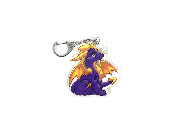 Spyro the Dragon Acrylic Charm/Keychain