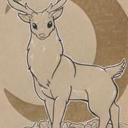 Ladie's Mantle Deer