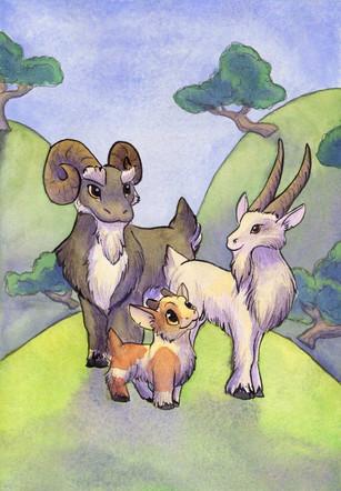 Billy Goats Gruff Page 1