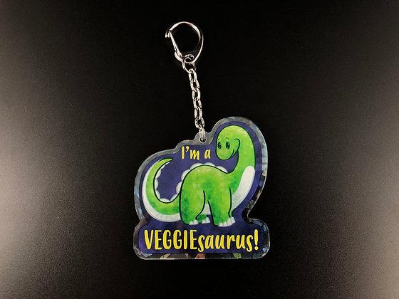 Veggiesaurus Acrylic Charm/Keychain