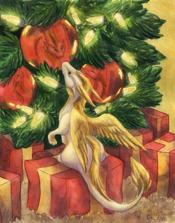 Charlotte the Christmas Dragon