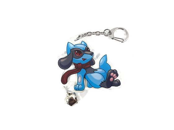 Riolu Soothe Bell Acrylic Charms/Keychains