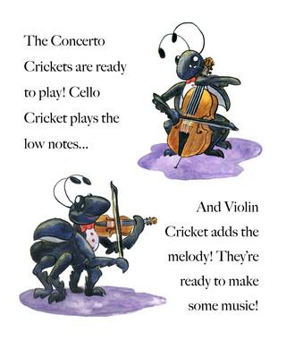 Concerto Crickets