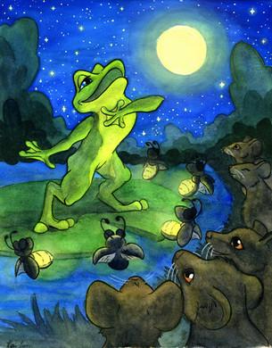 Barnabus the Baritone Bullfrog
