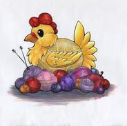 Yarn Chicken