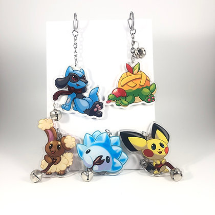 Pokemon Soothe Bell Acrylic Charms/Keychains
