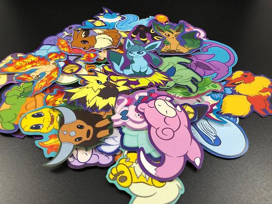 Make Your Own Pokemon Sticker Bundle!