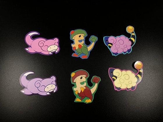 The Artist's Favorite Pokemon Sticker Pack