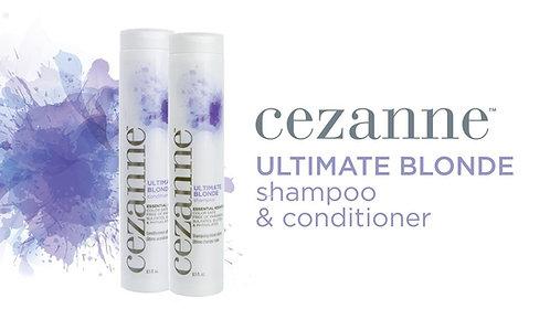 Cezanne Ultimate Blonde Shampoo & Conditioner
