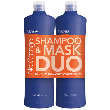Fanola No Orange Shampoo 1 Litre and Conditioner 1 Litre