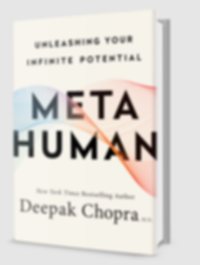 Book Meta Human By Author Deepak Chopra.