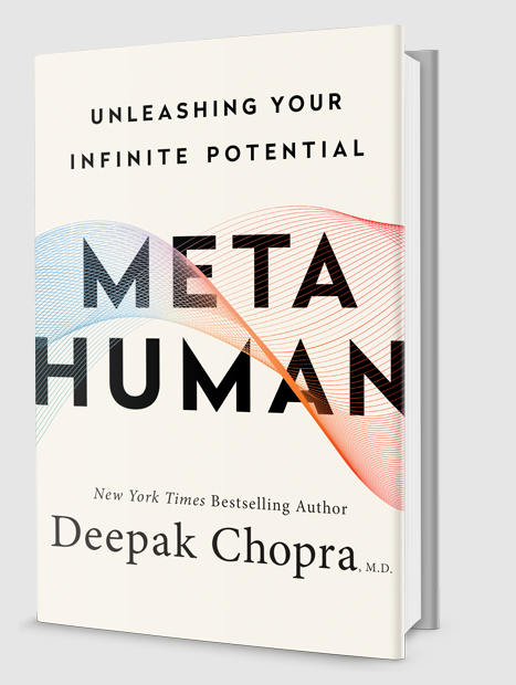 Book Meta Human By Author Deepak Chopra.