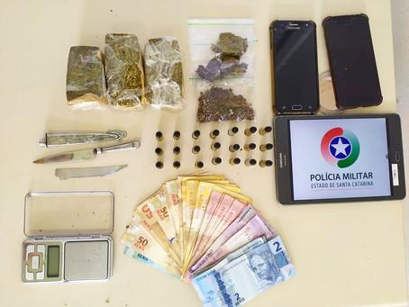 Presos por tráfico em Ibiraquera
