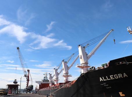 Ambev reativa operações comerciais no Porto de Imbituba.
