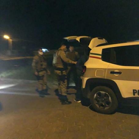 Bombeiro Militar de férias prende ladrão de celular com mais de 15 passagens pela polícia