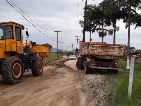 Cronograma de recuperação e limpeza de ruas é iniciado em Imbituba