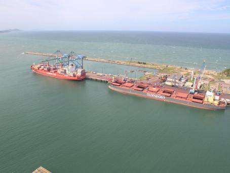 Recordes de cargas do Porto de Imbituba