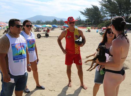 Animais da praia: Fiscalização será intensificada em Imbituba
