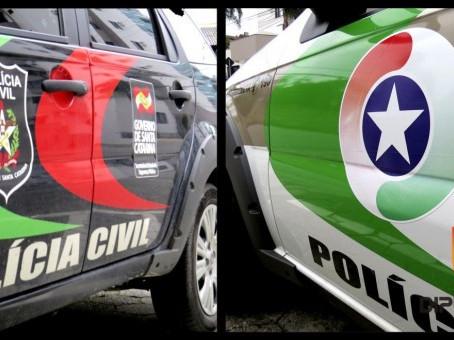 Polícias Militar e Civil deflagram operação conjunta na cidade de Imbituba