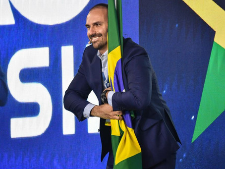 Eduardo Bolsonaro fará palestra em Criciúma, nesta sexta-feira (8)