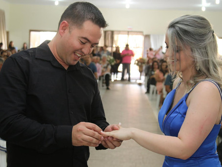 Casamento comunitário une 66 casais em Imbituba