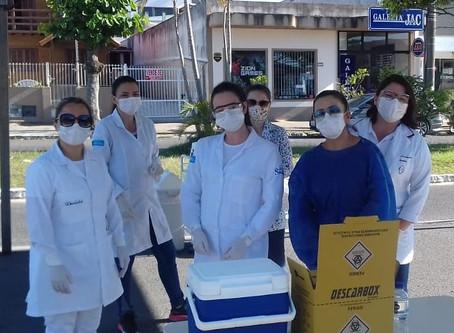 VACINA CONTRA H1N1 EM IMBITUBA
